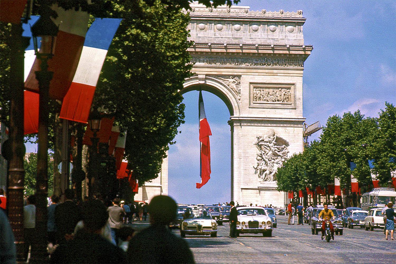 1966 Paris by John Spencer, on Bastille Day