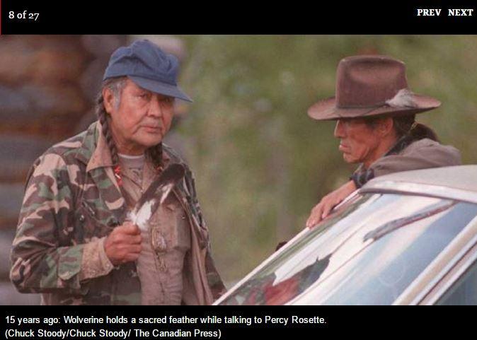 1995 Wolverine, Gustafsen lake BC