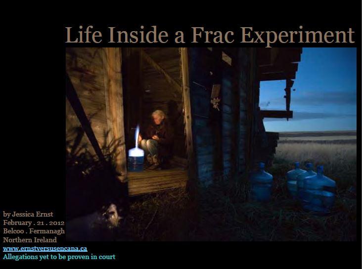 2012 02 21 Title Ernst Presentation Belcoo Fermanagh Northern Ireland