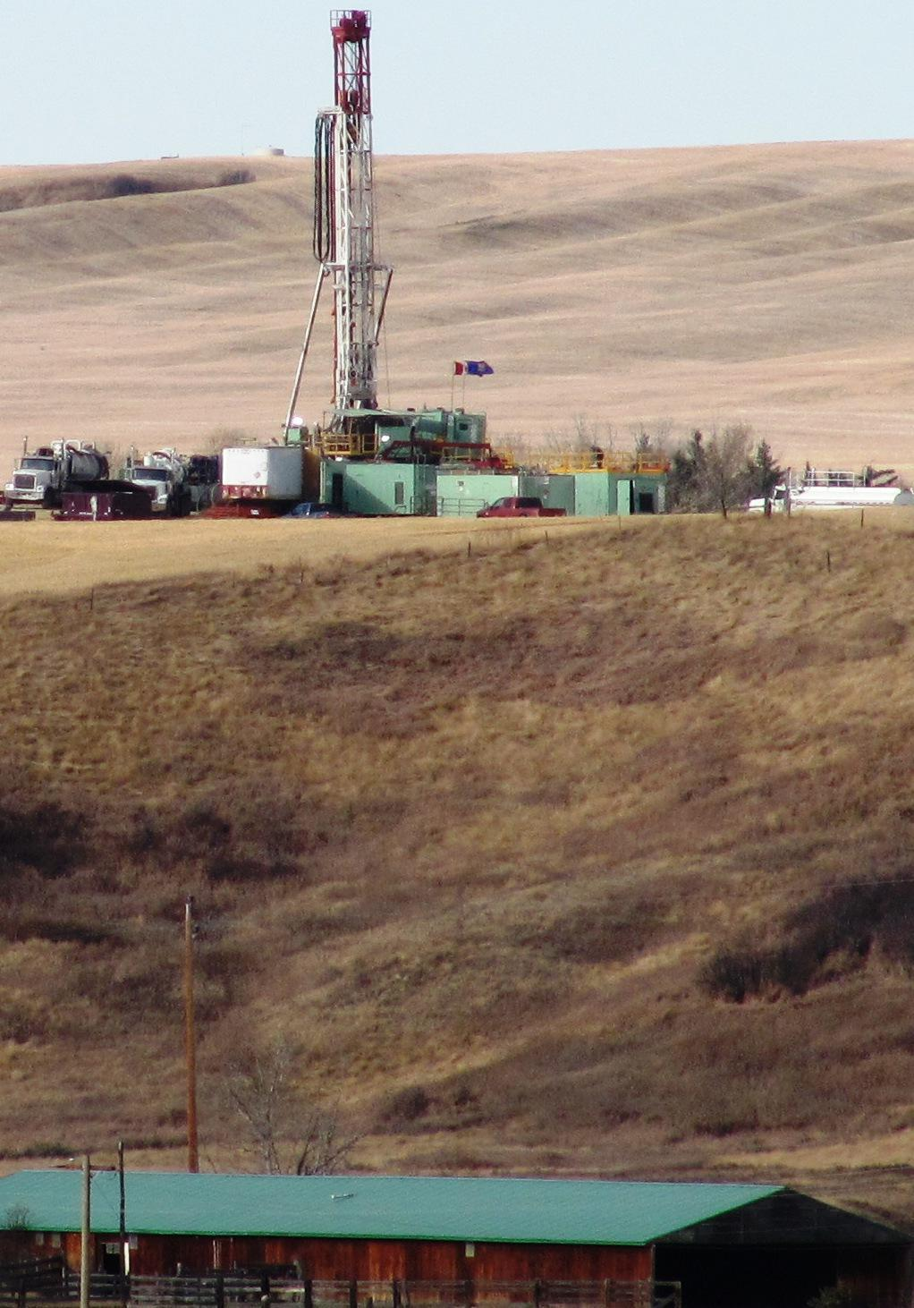 2011 10 EnCana 02-13-27-22 W4M deviated drilling under Ernst land, her dangerously contaminated water well is in the barn