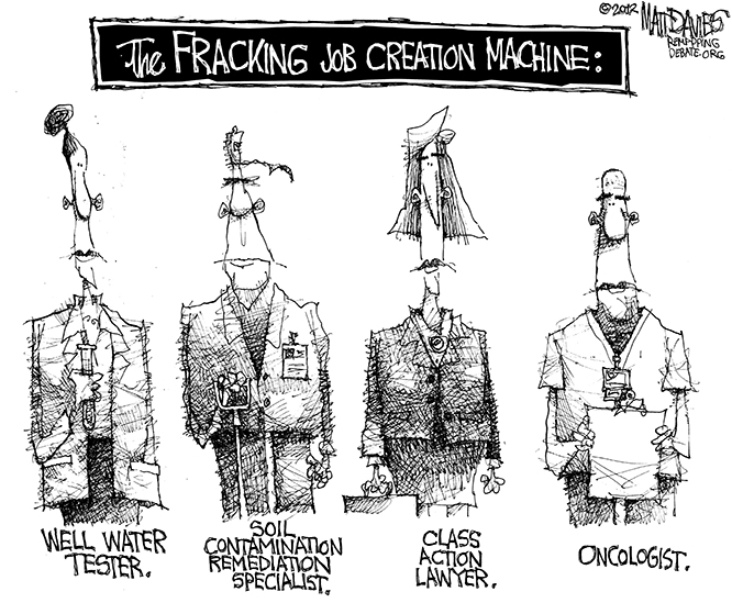 2012 10 17 Matt DaviesRD_666 The Fracking Job Creation Machine