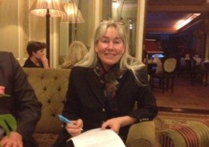 2013 03 05 Jessica Ernst in Dublin signing Application not to Frack Ireland