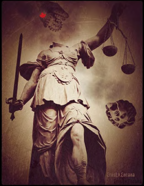 2013 03 11 Canada Fracked the Head off Lady Justice