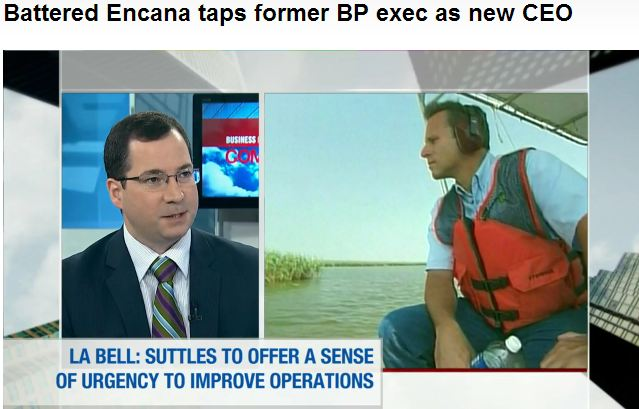 2013 06 11 Screen Capture BNN clip on Doug Suttles Appointed CEO Encana brings sense of urgency to improve operations