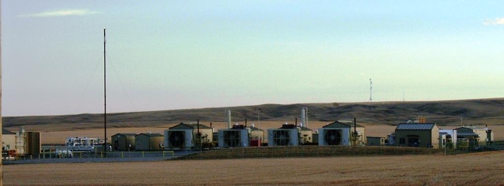 2004 Multi Encana compressors near Rosebud