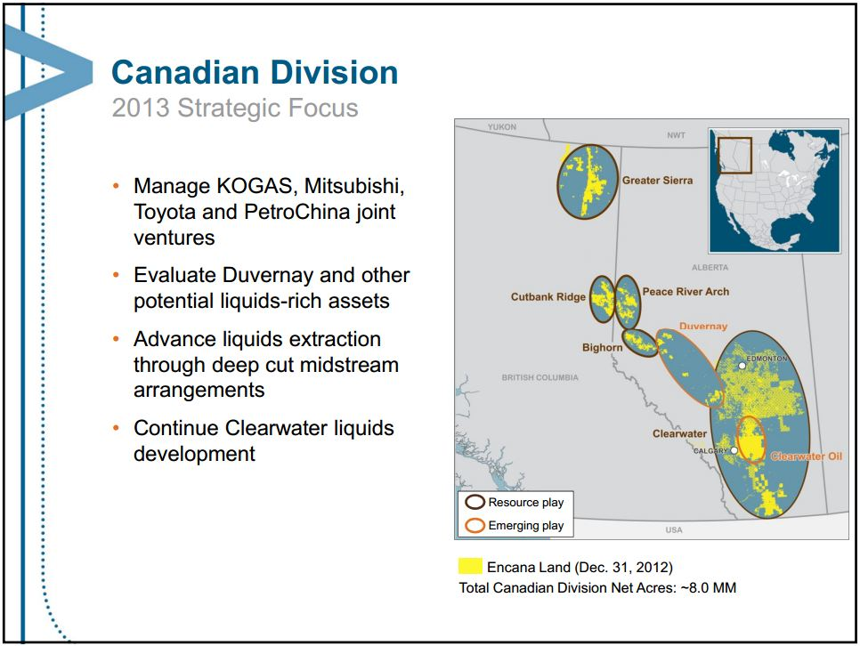 2013 07 24 Encana's land as of dec 31 2012