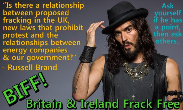 2013 09 13 Russell Brand on Fracking collusion w govt