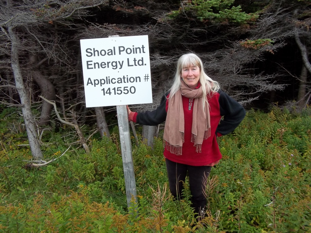 2013 09 19 Jessica Ernst touring Gros Morne National Park Newfoundland Shoal Point Energy Locations