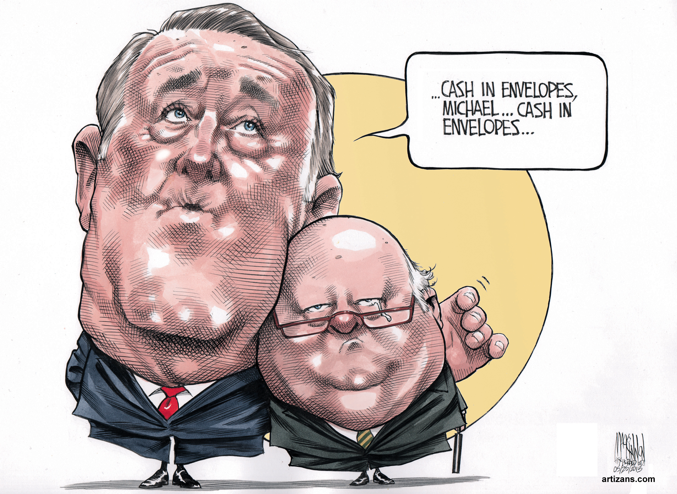 2013 06 07 Mulroney to duffy cash in envelopes only