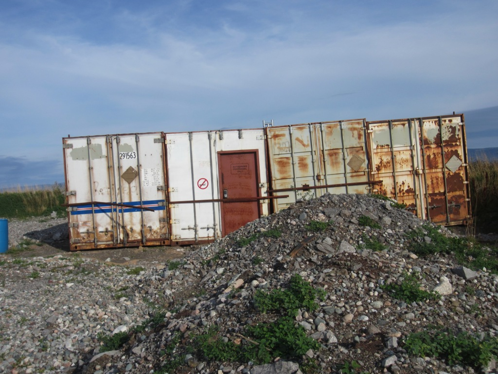 2013 09 21 Abandoned mess at Shoal Point Lease Port au Port nfld 2