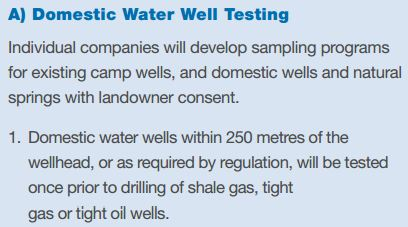 2013 10 01 screen capture from #3 CAPP Hydraulic Fracturing Operating Practice- Baseline Groundwater Testing