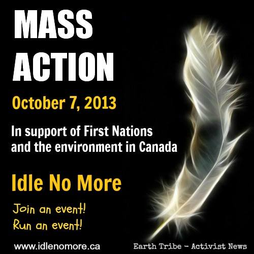 2013 10 07 Idle No More Mass Action