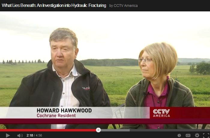 2013 10 11 CCTV What lies beneath Frac Health Impacts Howard Hawkwood Rancher lost 10 percent of herd last year Cochrane Alberta 3.jpg