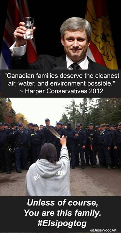 2013 10 18 Stephen Harper says Canadian families deserve the cleanest water