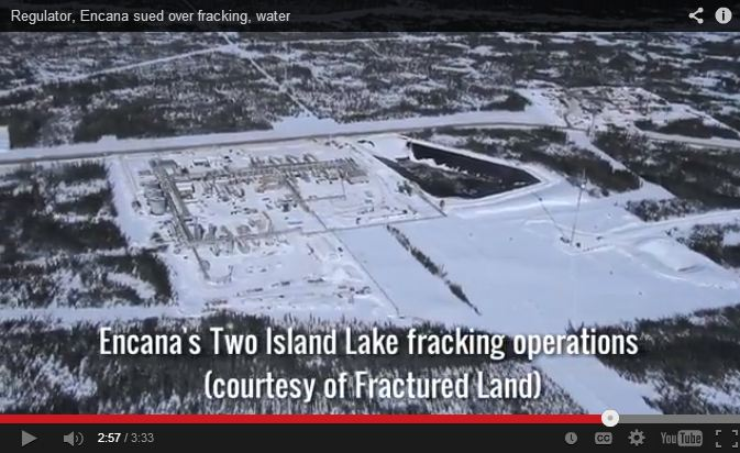 2013 11 13 Encanas two island lake fracturing operation in NE BC