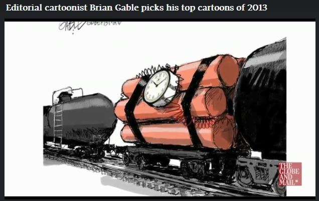 2013 12 05 Brian Gable picks his top 2013 cartoons