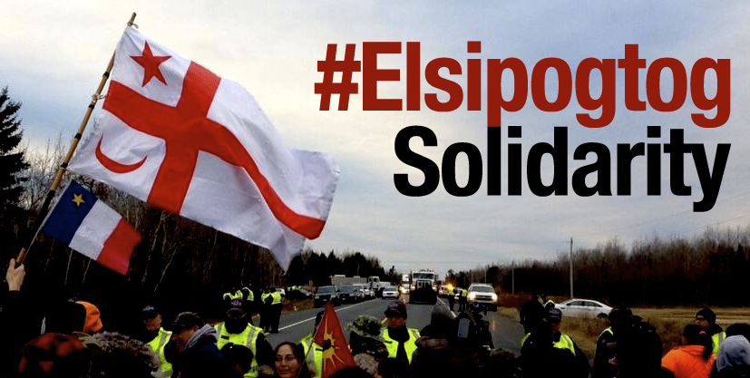 2013 12 07 Elsipogtog-FlagHwy