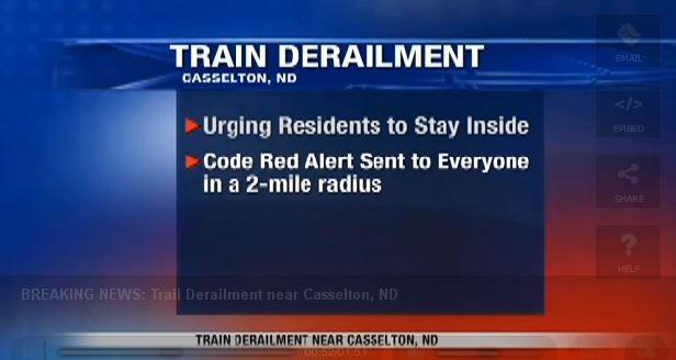 2013 12 30 North Dakota train derailment fire explosions possibly carrying Bakken crude