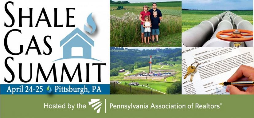 2014 04 24 25 Pennsylvania Shale Gas Summit 25 per cent realtors impacted by Marcellus fracing