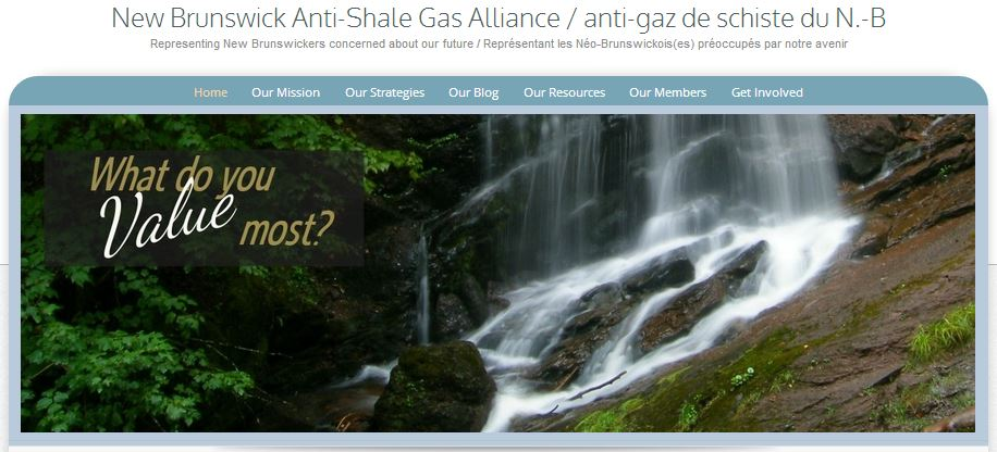 2014 06 24 New Brunswick Anti-Shale Gas Alliance Header