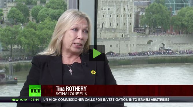2014 07 12 Max Keiser Report Fracing interview w Tina Louise Rothery from Blackpool UK