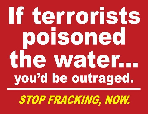 2014 07 22 if terrorists poisoned the water you'd be outraged