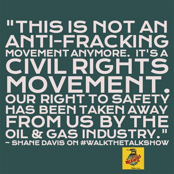 2014 07 27 This is no longer an anti-frac movement, it's a civil rights movement