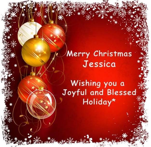 2014 12 24 Merry Christmas Jessica from Lethbridge Alberta