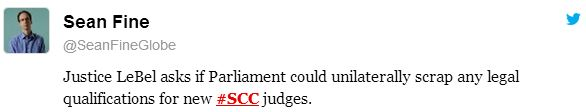 2014 01 15 J LaBel asks if govt could unilaterally scrap any legal qualifications