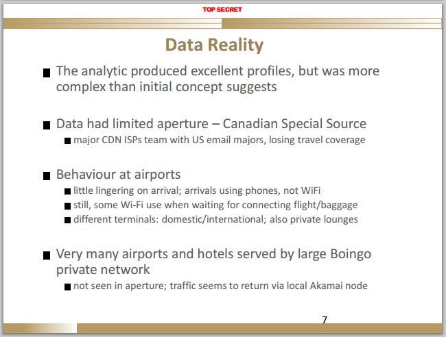 2014 01 31 CSEC spying at canadian airport