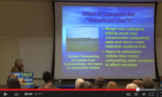 2014 02 01 Dr Julie Weatherington Rice Radioactive brine drilling muds and cuttings