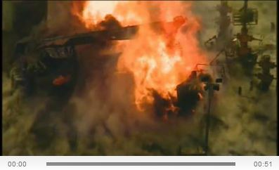 2014 02 11 Gas well explosion in green co pennsylvania