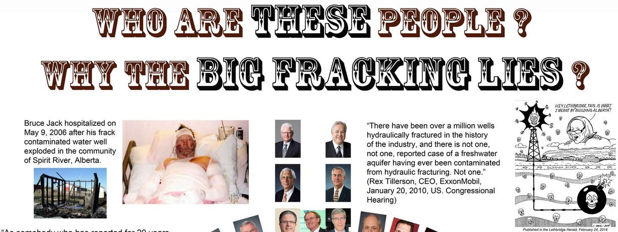 2014 02 24 Rex Tillerson lie on the Big Lie Poster by Will Koop