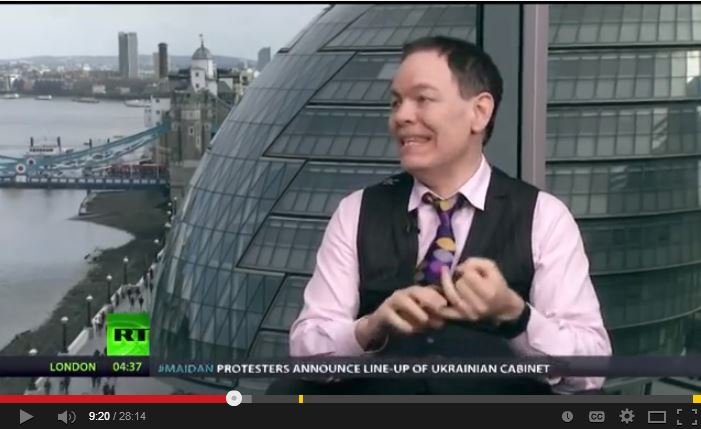2014 03 04 Snap from RT Max Keiser on Rex Tillerson joining frac lawsuit