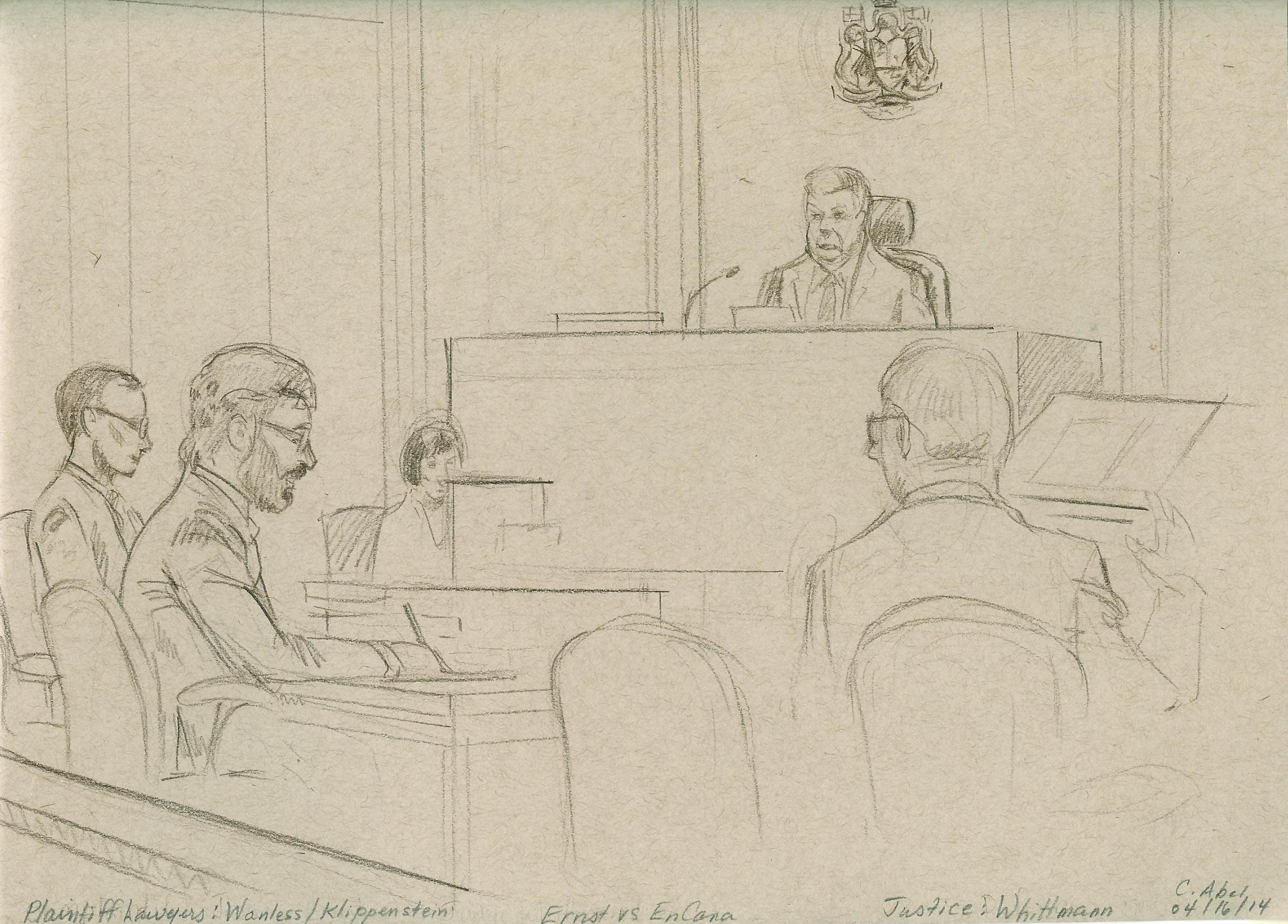 2014 04 16 Drumheller Court w Justice Wittmann