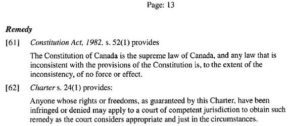 2014 04 22 CF v Alberta Charter Rights breach caused by Alberta law