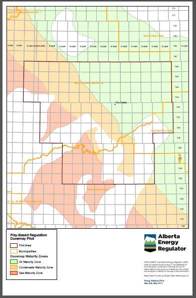 2014 Fox Creek Alberta Play Based Regulation & Synergy Duvernay Pilot