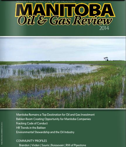 2014 Manitoba Oil & Gas Review Cover