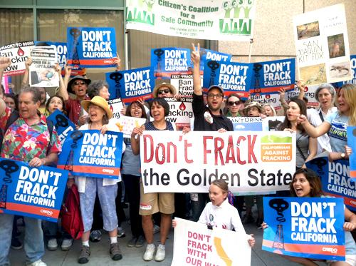 2015 02 07 8,000 plus people march, dont frack the golden state, dont frack with our water