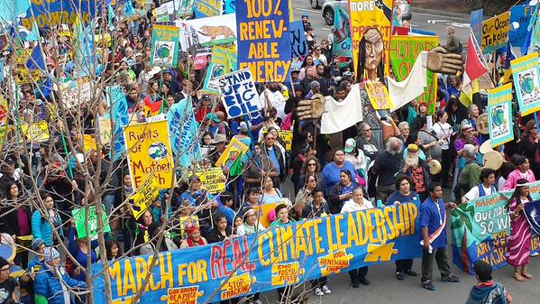 2015 02 07 8,000 plus people march for real climate leadership in california, greenpeaceusa