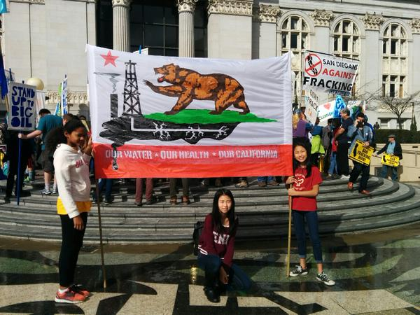 2015 02 07 8,000 plus people march, our water, our health, our california