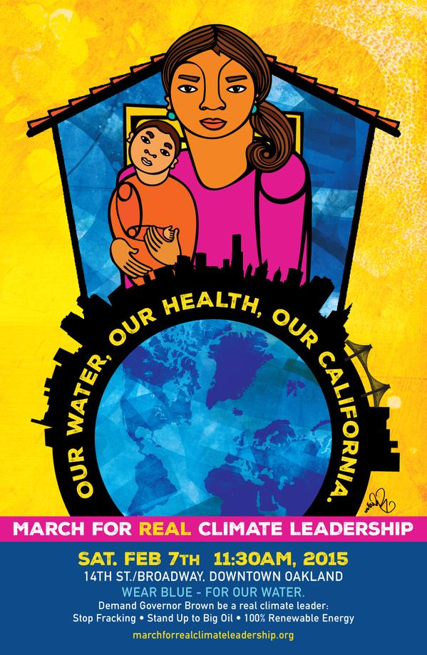 2015 02 07 our water, our health, our california poster