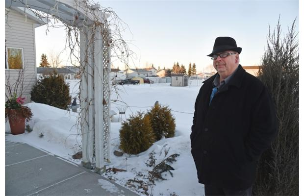 2015 02 25 Ralph Olson lives within metres Imperial Oil leaking well, ordered repairs make the leaking methane worse