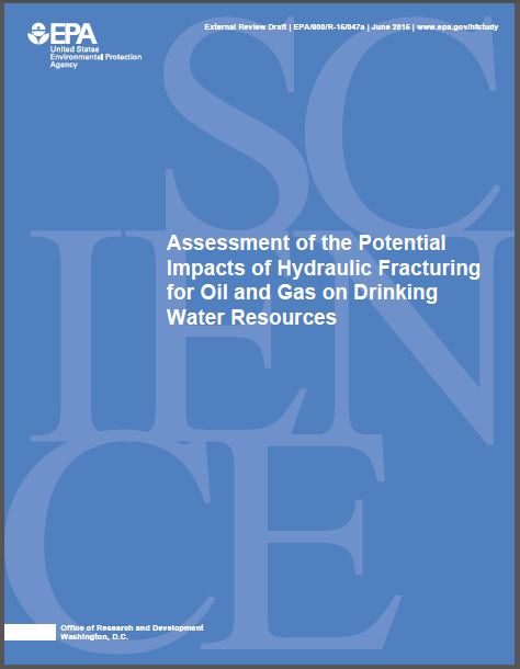 2015 06 04 EPA Hydraulic Fracturing Review Draft snap cover