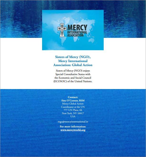2015 06 12 International Human Rights Law and Fracking, Sisters of Mercy, Mercy International Association Global Action