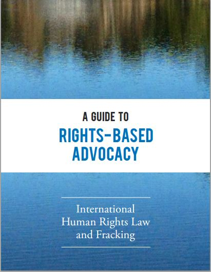2015 06 12 International Human Rights Law and Fracking, Sisters of Mercy, Mercy International et al, cover