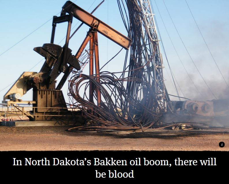 2015 06 13 Bakken Oil Boom Serial Killer, There will be blood, cover shot