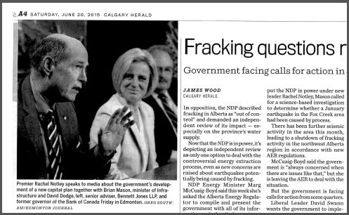 2015 06 20 Fracking questions resurface, print copy, pg 2