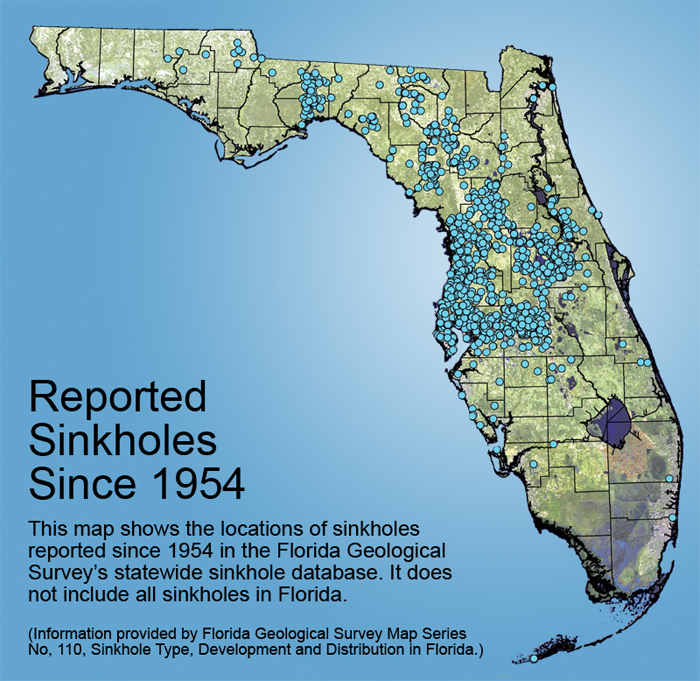 2015 06 23 accessed off net, map some Florida sinks since 1954