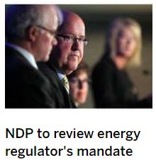 2015 06 23 snap Calgary Herald, NDP to review AER's mandate